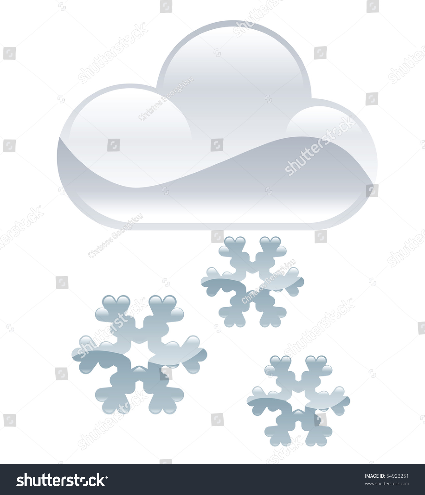 hight resolution of weather icon clipart snow flakes illustration