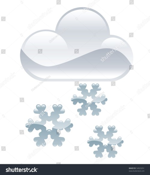 small resolution of weather icon clipart snow flakes illustration
