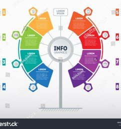 web template of service tree info chart or diagram vector infographic of technology or [ 1500 x 1225 Pixel ]
