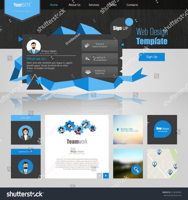Computer Reseller Website Template Free Software