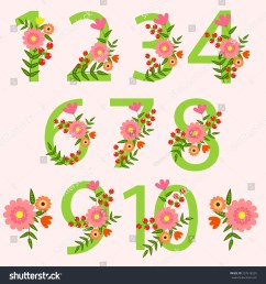 wedding floral number wedding clipart wedding invitations scrapbooking design blog  [ 1500 x 1600 Pixel ]