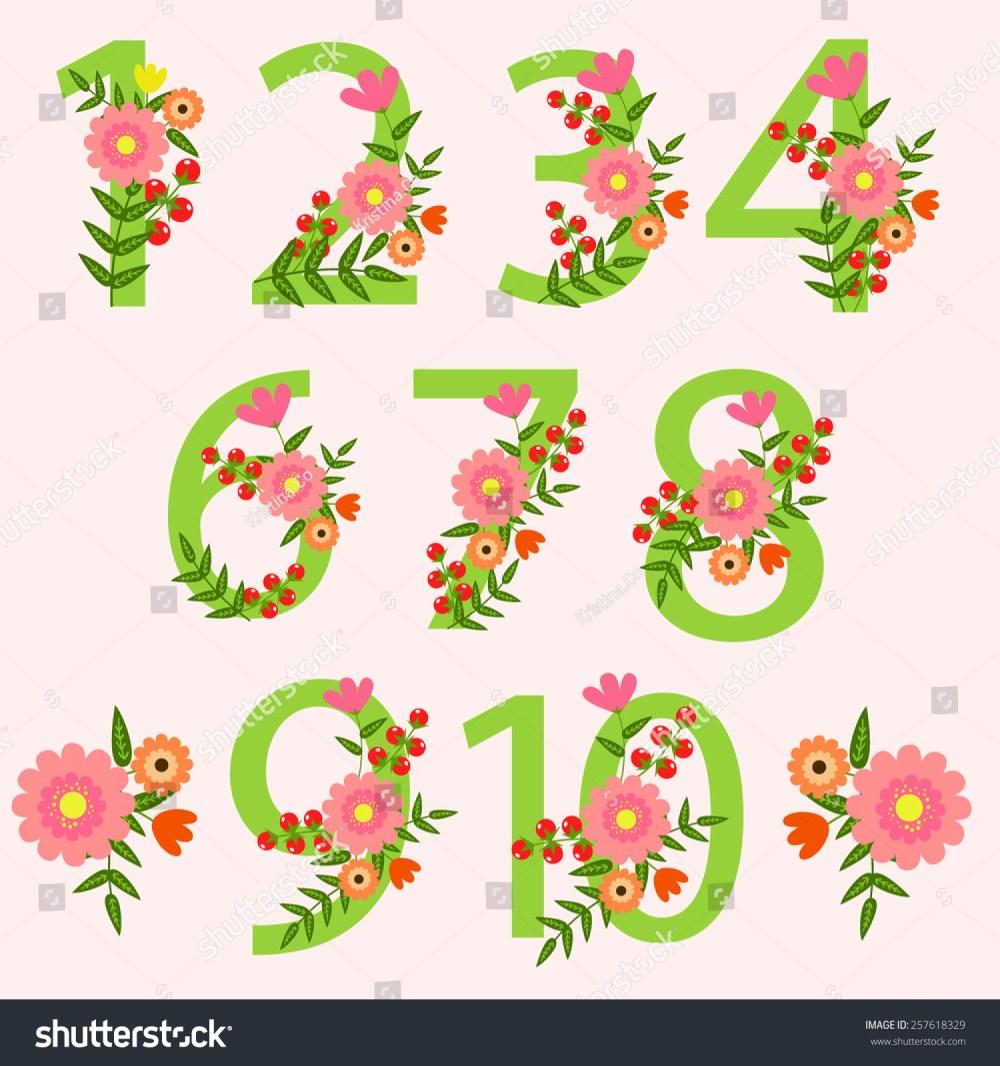 medium resolution of wedding floral number wedding clipart wedding invitations scrapbooking design blog