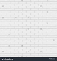 White Painted Brick Wall Pattern Vector Stock Vector ...