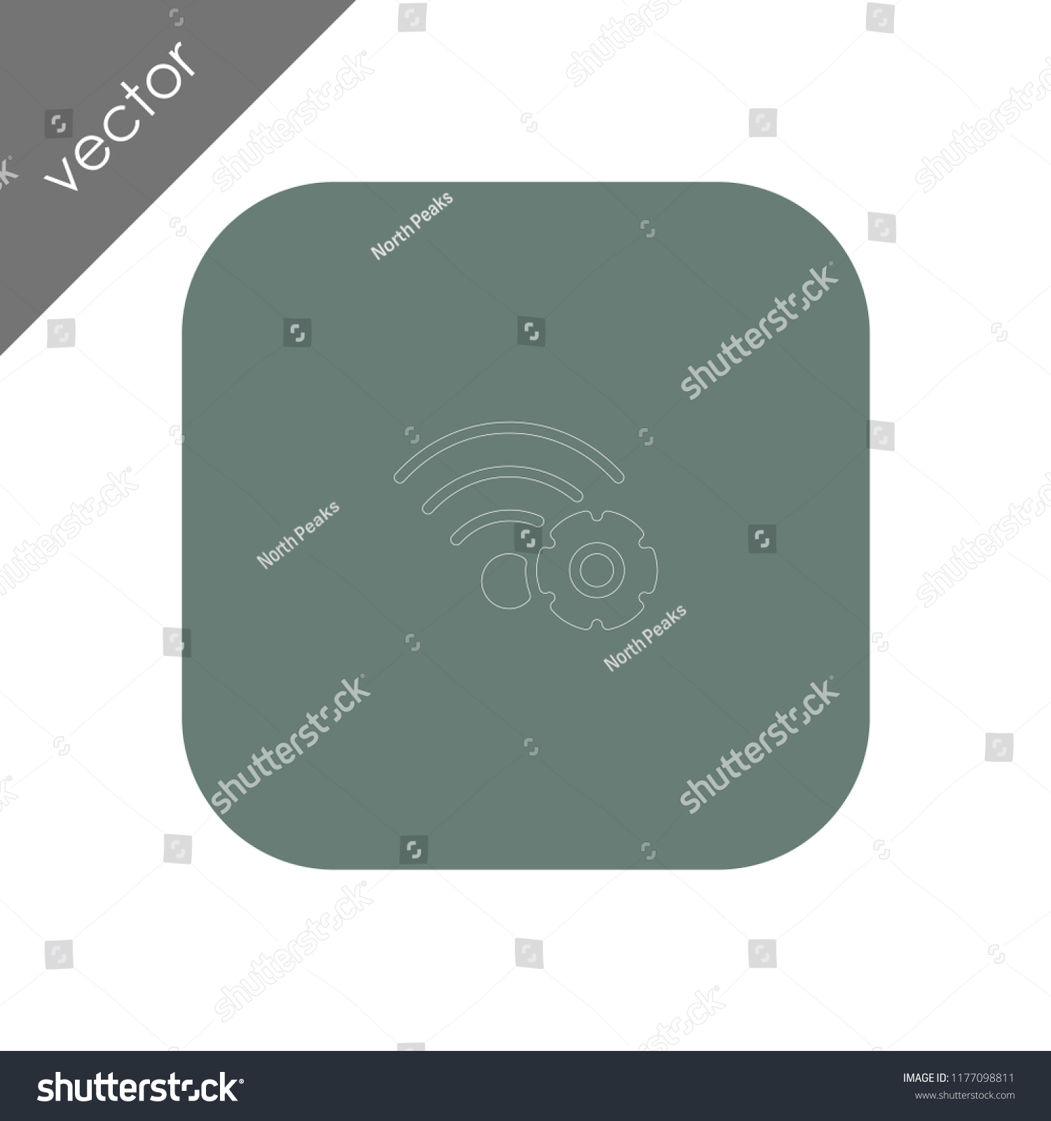 hight resolution of wireless network settings icon