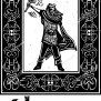 Woodcut Style Image Of The Viking God Thor In A Celtic