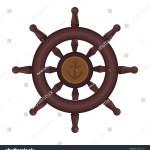 Wooden Ship Steering Wheel Icon Cartoon Stock Vector Royalty Free 539235424