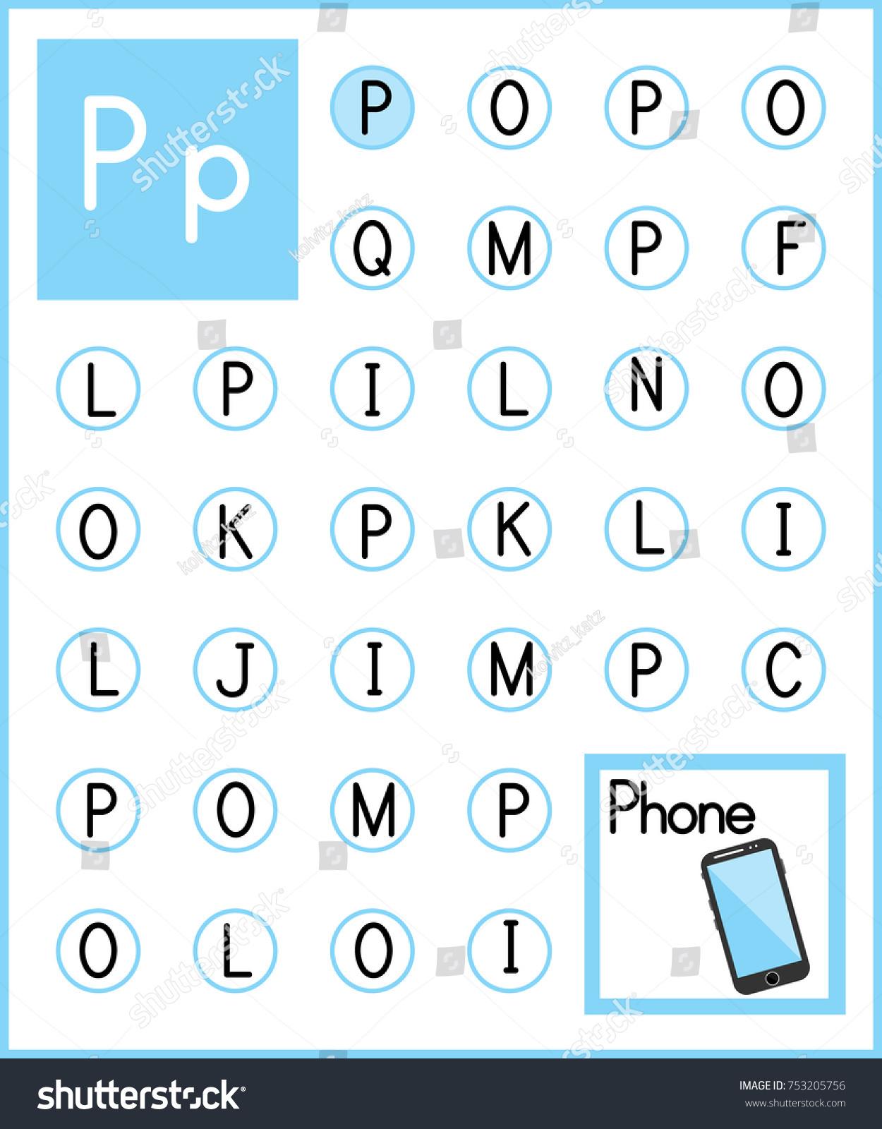 Worksheet Alphabet Activity Pre Schoolers Kindergarten