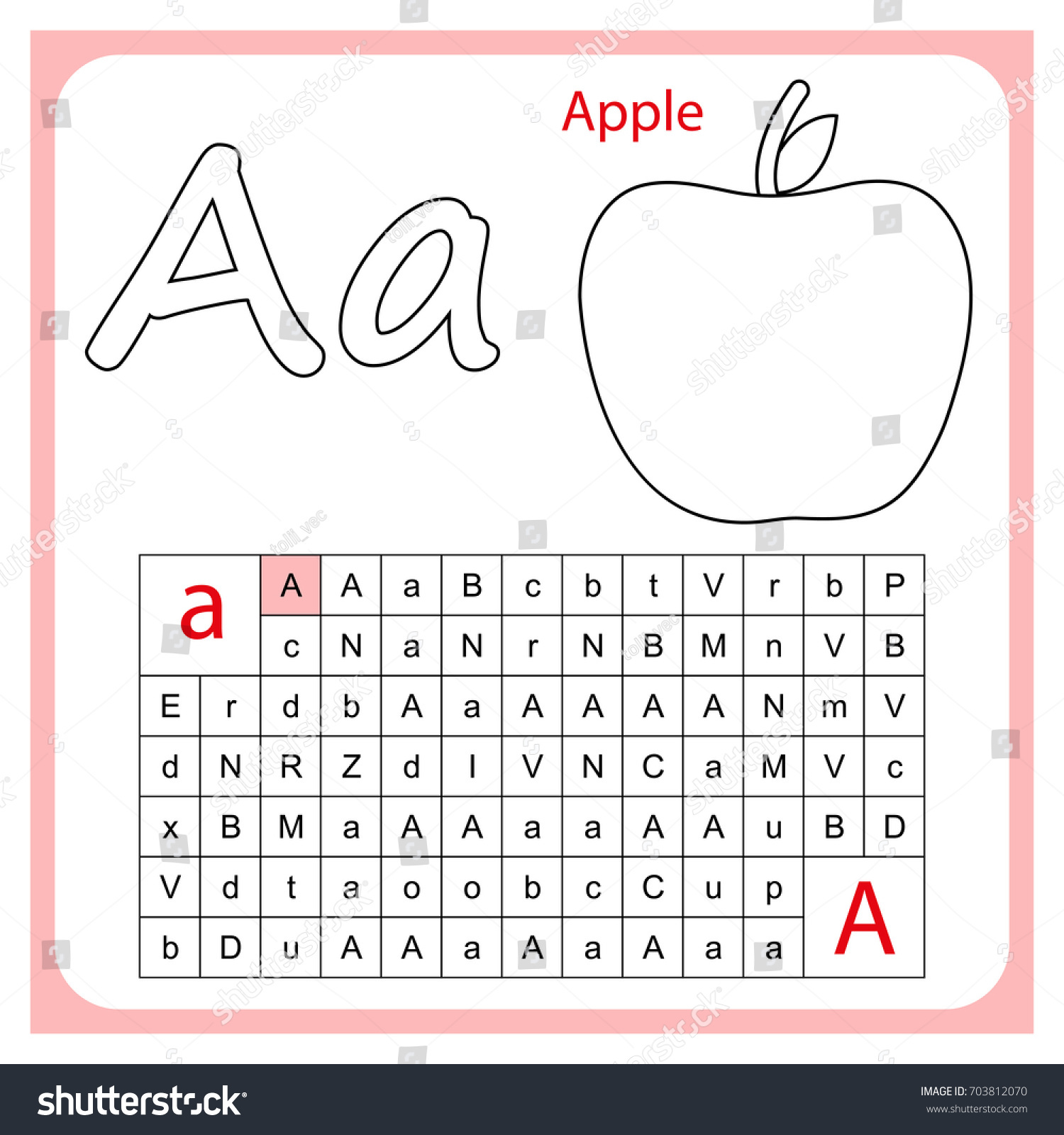 Letters Of The Asl Alphabet Worksheet