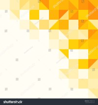 Yellow Abstract Pattern Triangle Square Pattern Stock ...