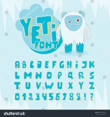 What Is Yeti Logo Font - Year of Clean Water
