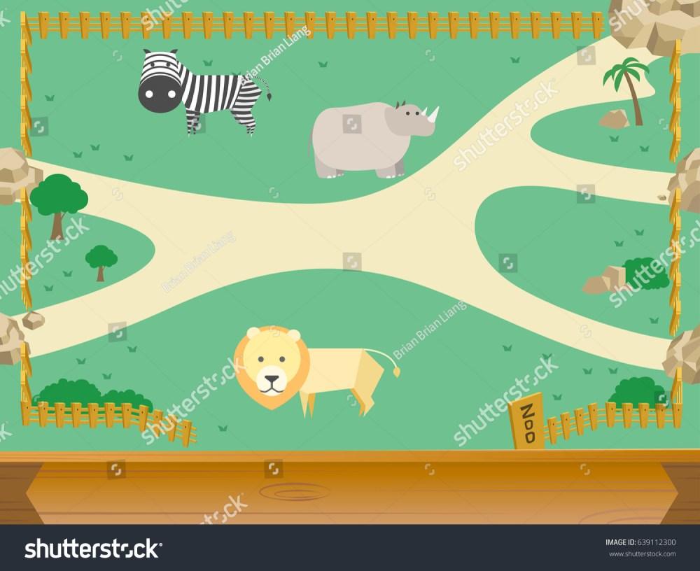 medium resolution of zoo and animal vector
