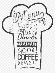Restaurant menu template on transparent background PNG Similar PNG