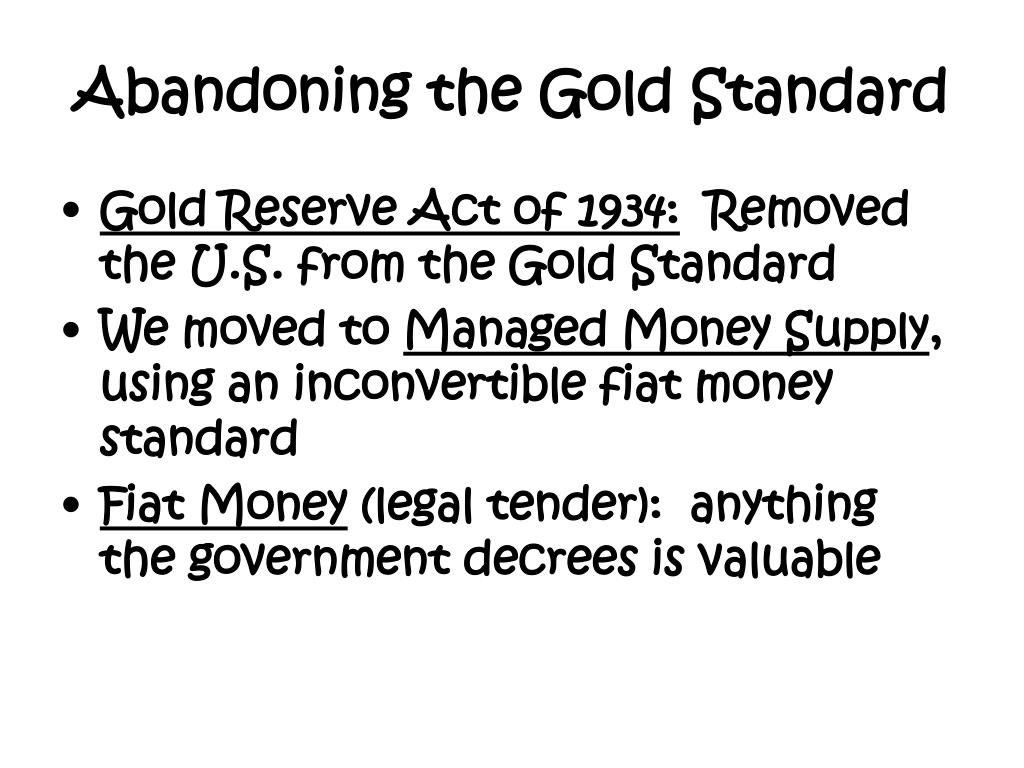 Inconvertible Fiat Money Standard Definition The FIAT Car