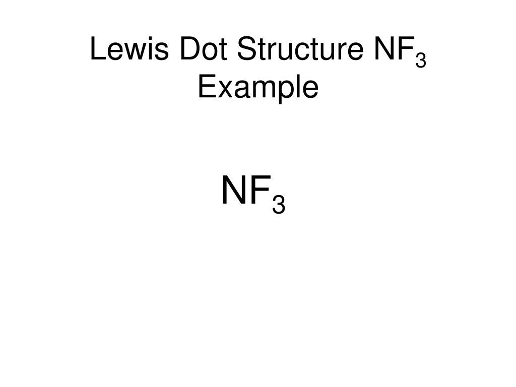 hight resolution of lewis dot structure nf3 example nf3