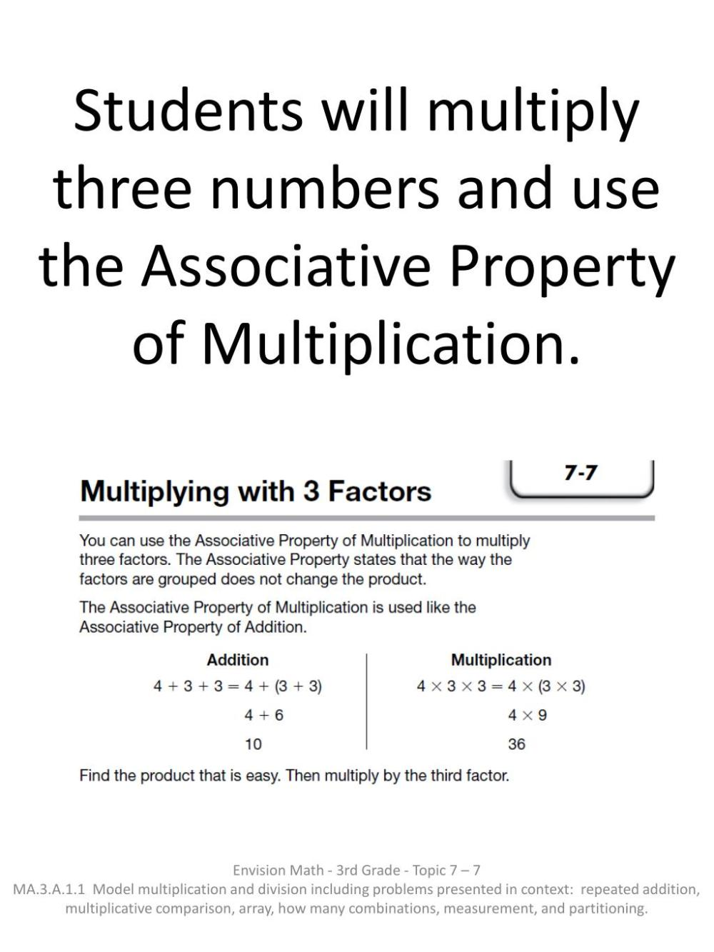 medium resolution of PPT - Students use patterns to multiply by 3 as a factor by using skip  counting