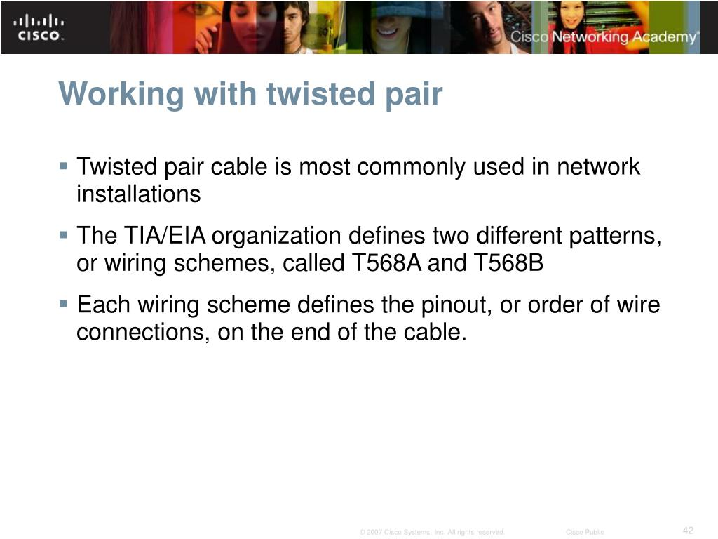 hight resolution of twisted pair cable schematic
