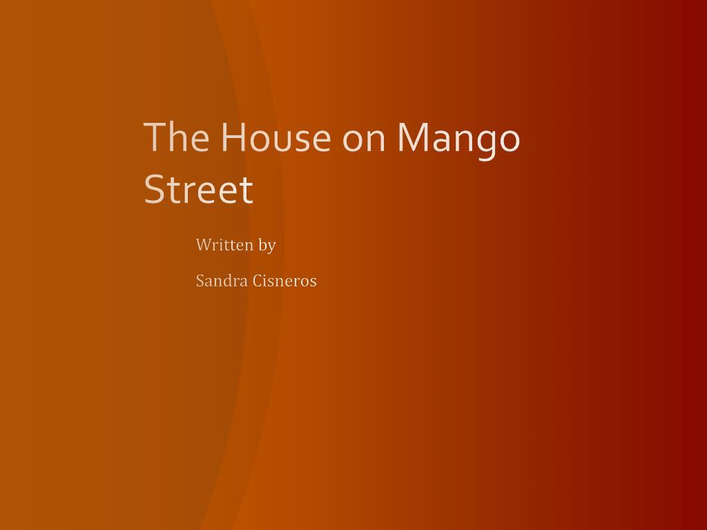 La Casa En Mango Street English Introduction