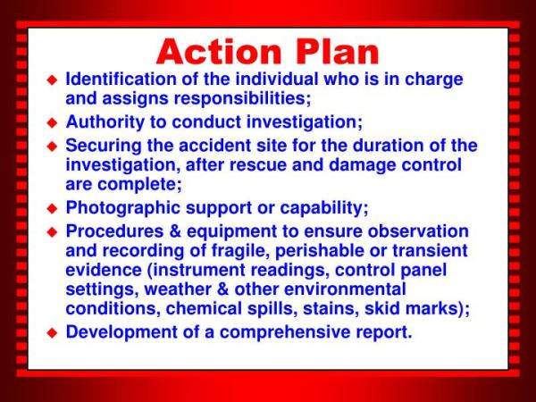 PPT Accident Incident Prevention Investigation