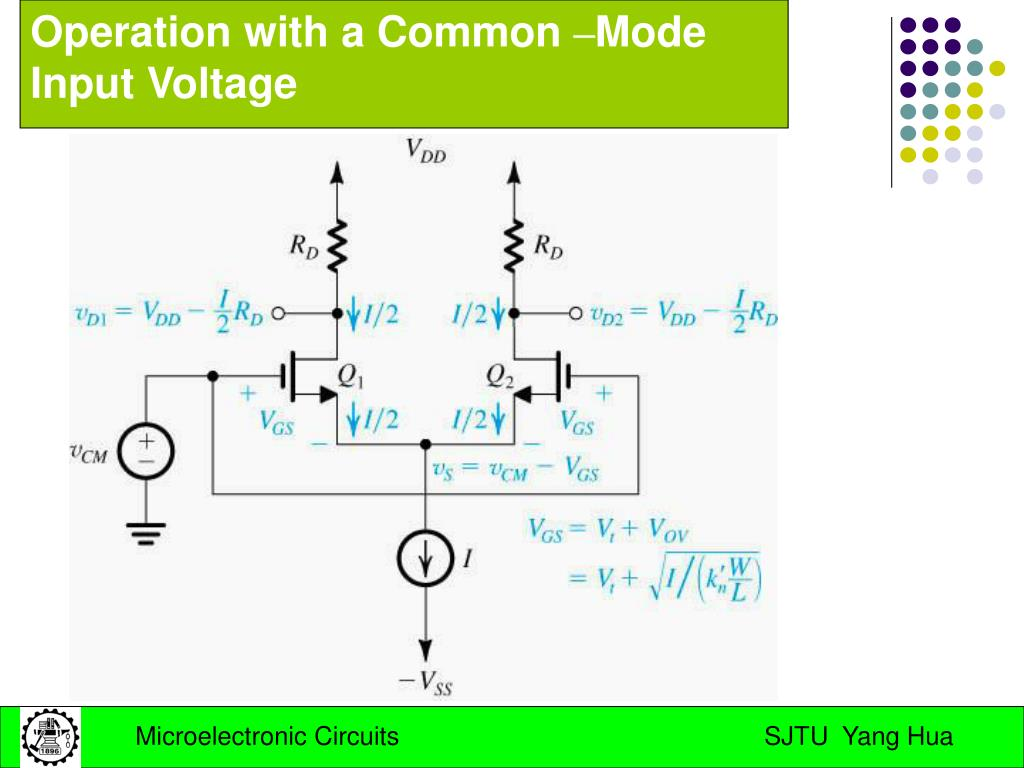 Amplifier Circuit With Common Mode Signal Input Amplifiercircuit