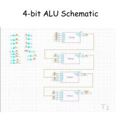 4 bit alu schematic [ 1024 x 768 Pixel ]
