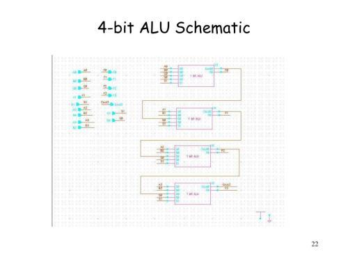 small resolution of 4 bit alu schematic