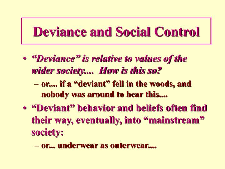 Deviance And Social Control Essay Coursework Academic Service