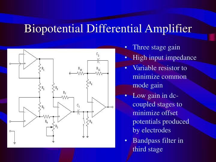 Biopotential How Is This Eeg Circuit Amplifying And Filtering Input