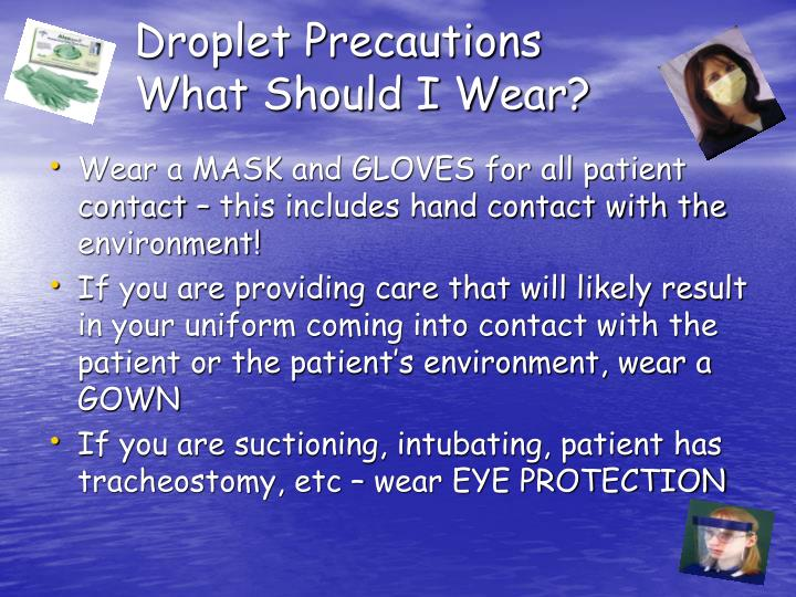 Wear Contact What Precautions
