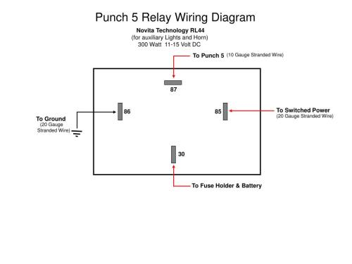 small resolution of auxiliary lighting wiring diagram
