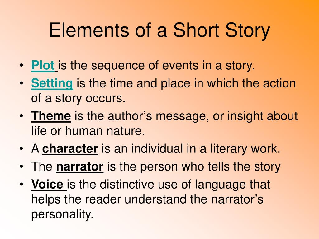 Elements Of A Good Short Story Six Elements Of Great