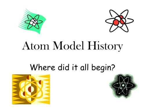 small resolution of atom model history n