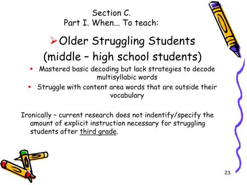 small resolution of PPT - MULTISYLLABIC WORD READING PowerPoint Presentation