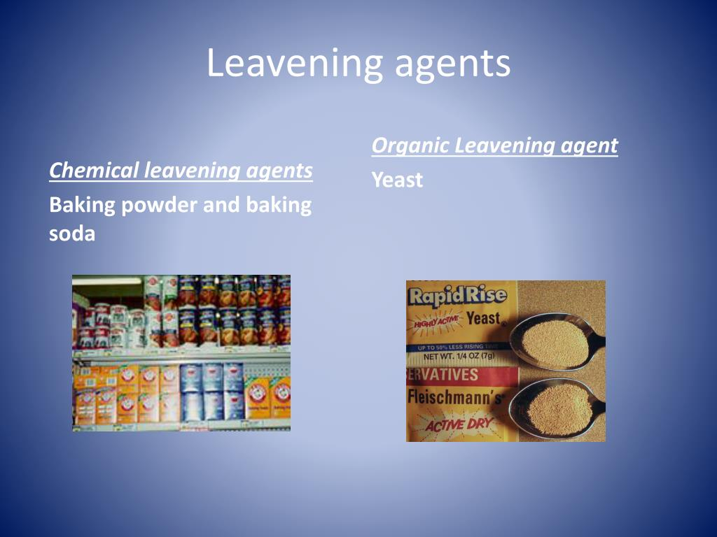 PPT - Chemical leavening agents PowerPoint Presentation ...