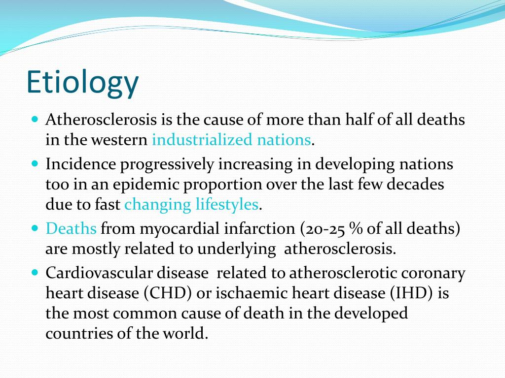 PPT - Pathophysiology of Atherosclerosis PowerPoint ...