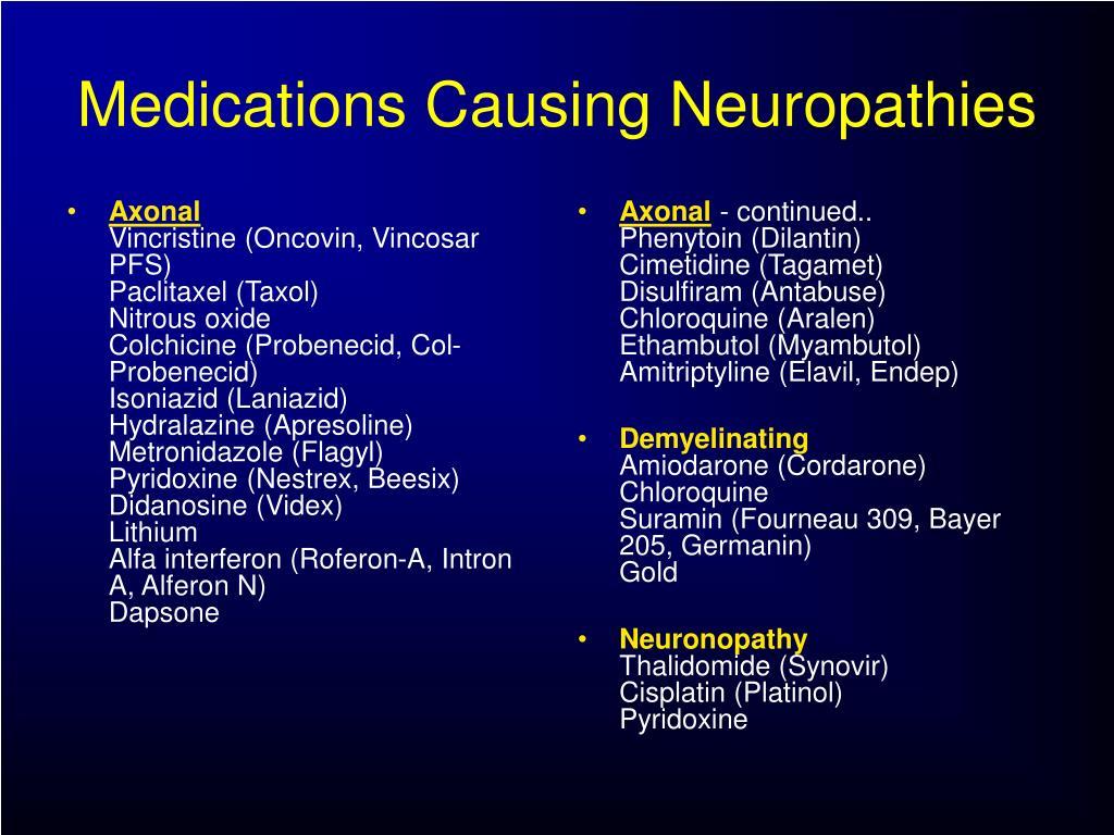 PPT - Peripheral Neuropathy PowerPoint Presentation free ...