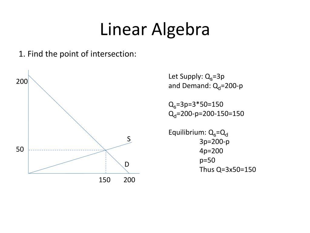 PPT  Linear Algebra PowerPoint Presentation  ID150375