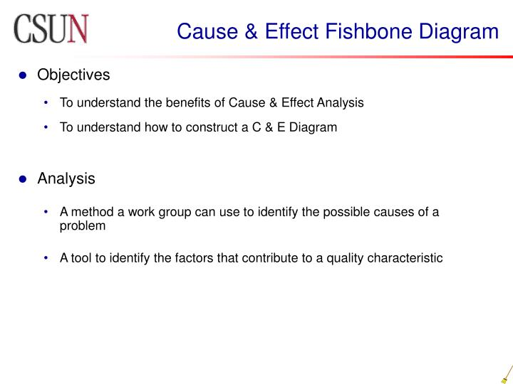 advantages of cause and effect diagram o2 sensor high voltage ppt six sigma quality engineering powerpoint presentation id 154756 fishbone