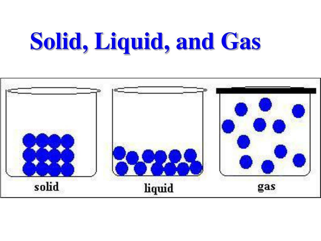 Solidifying Liquid