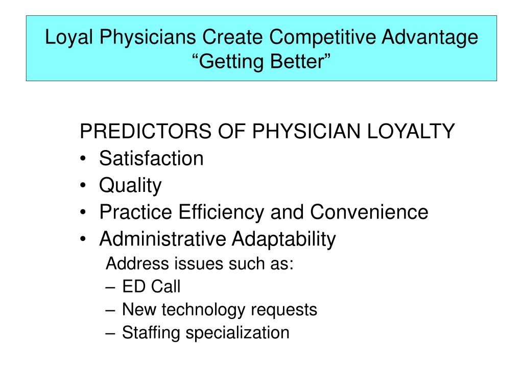 An Introduction To The Physician Hospital Relationships