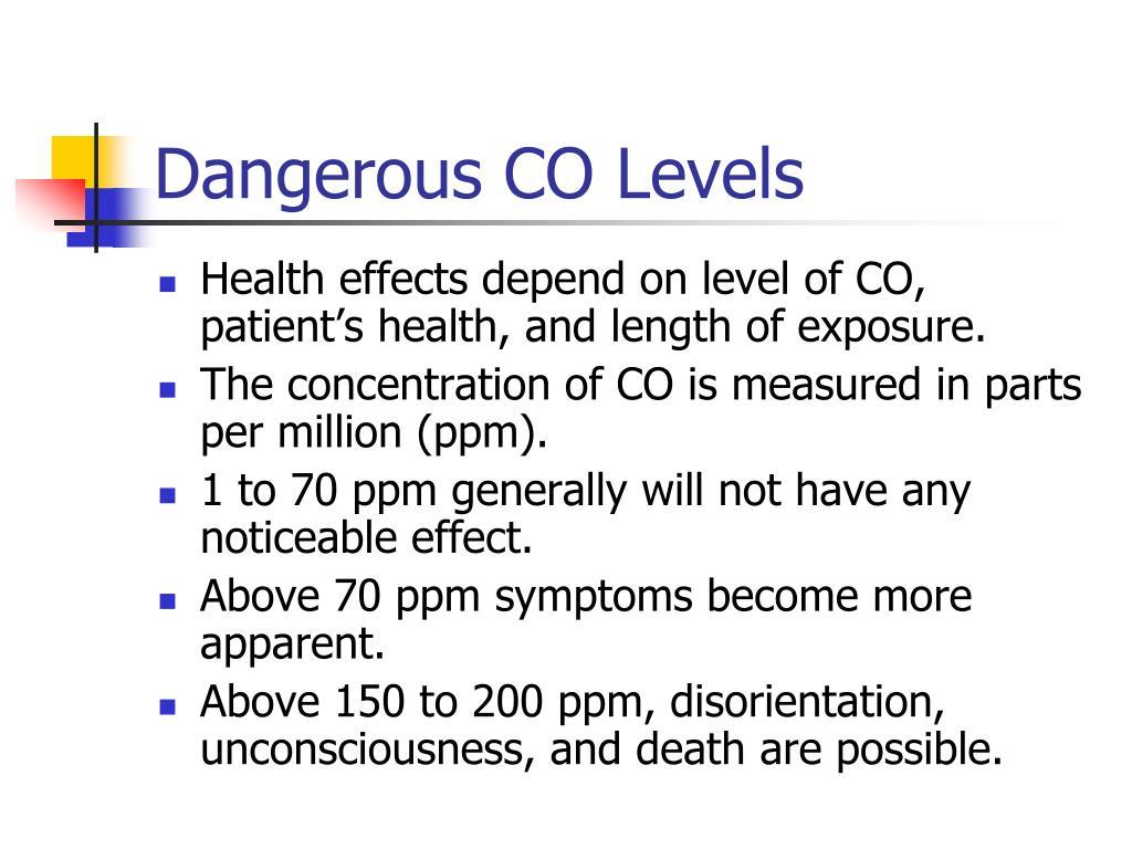 PPT - Carbon Monoxide Poisoning PowerPoint Presentation ...