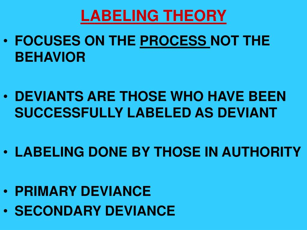 PPT - DEVIANCE AND CRIME PowerPoint Presentation - ID:188259