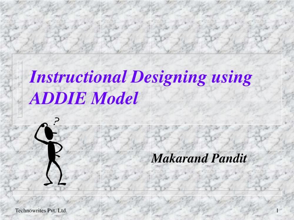medium resolution of instructional designing using addie model powerpoint ppt presentation