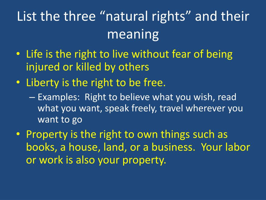 PPT - Lesson 2: Why did the Founders believe that people ...