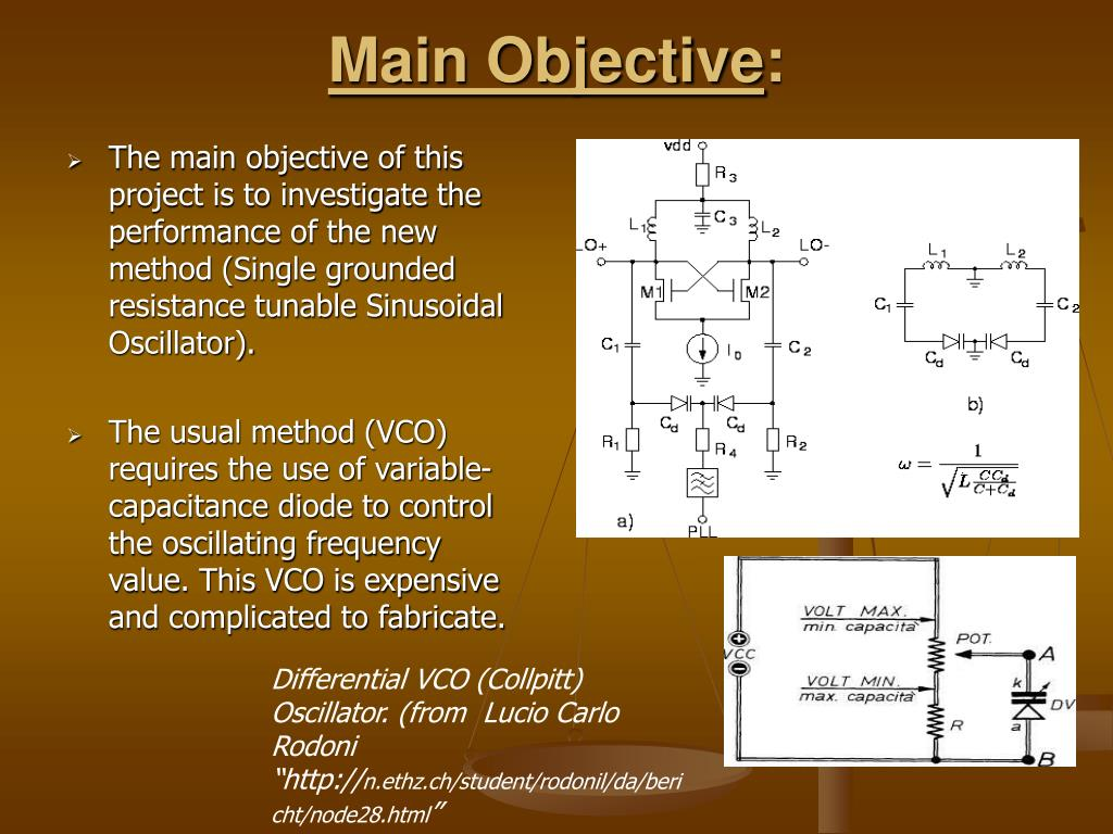 Objective To Analyze Circuits In Which The Main Element Is The Diode
