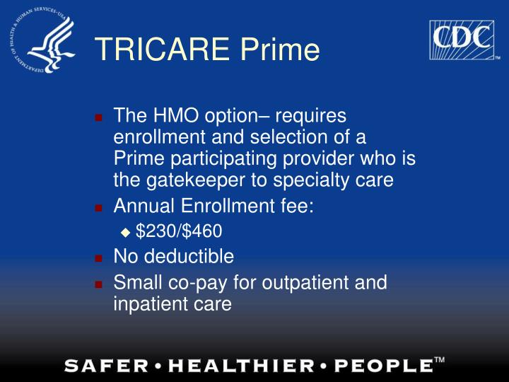 PPT  TRICARE Retiree Benefits PowerPoint Presentation