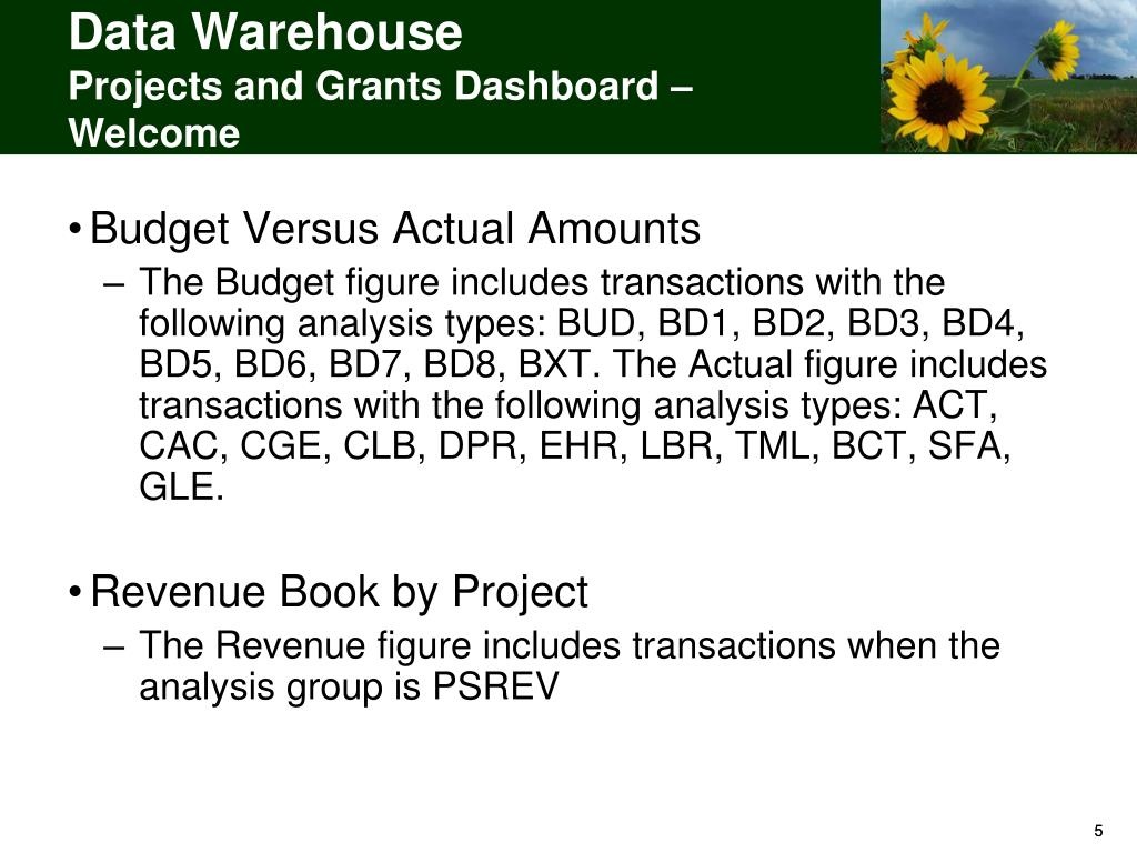 PPT  Data Warehouse Project Transactions Subject Area PowerPoint Presentation  ID216819