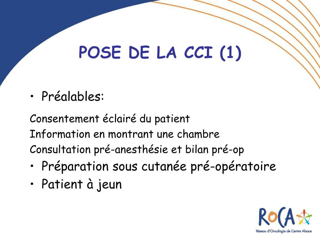 PPT  LES CHAMBRES A CATHETER IMPLANTABLES CCI PowerPoint Presentation  ID219285