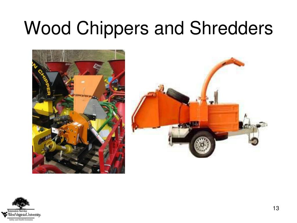 Limb Chipper Shredder