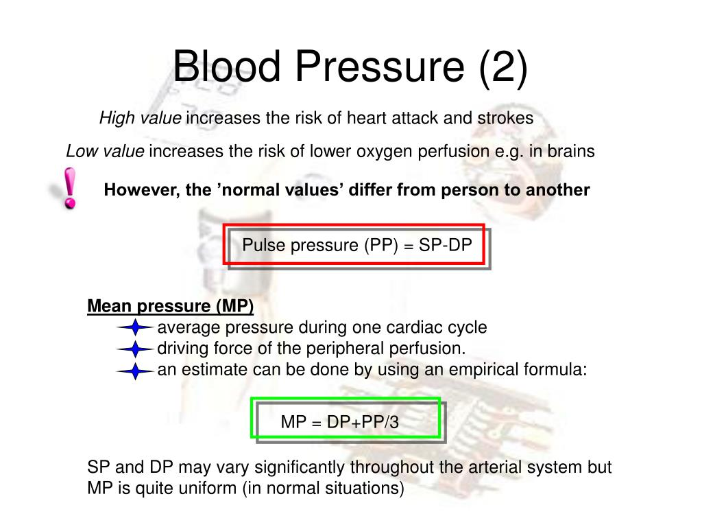 Ppt Blood Pressure And Flow Measurements Powerpoint