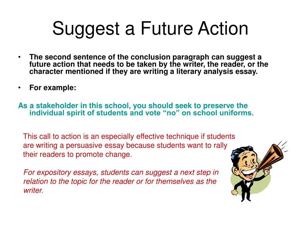 Call To Action Essay Ideas On Counter